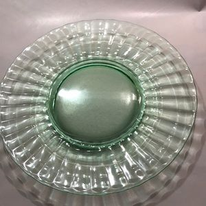 Other - Vintage Green depression/uranium glass plate